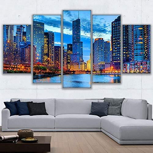 Jqnxww Lienzo Arte Pared Imágenes Decoración hogar