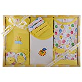 Baby Station Mini Berry Gift Set-13 Pcs For New Born (Yellow)