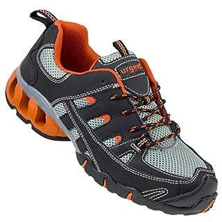 URGENT Arbeitsschuhe Sicherheitsschuhe Modell 215 S1 EN ISO 20345 + Socken (40)