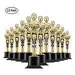 Questi Trofei Primo Posto Dorati Prextex sono ottimi per cerimonie o feste ciascun trofeo misura 6''.