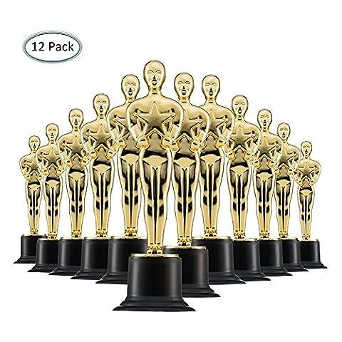 Trophee Trophee-15 - Pack de 12 magnifiques trophées pour récompenser