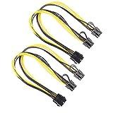 Prettygood7 Stromkabel (8-polig auf Grafikkarte, 2 x PCI-E, 8-polig, 6-polig + 2-polig)