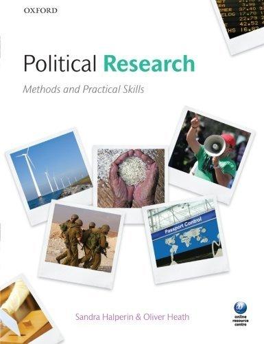 Researching Politics: Methods and Practical Skills by Sandra Halperin (2012-03-24)