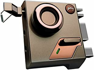 Godrej lock EXS Altrix -1 CK -  Milano Bronze finish