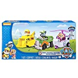 Spin Master 6026092  -  Paw Patrol  -  Rescue Racers - 3-er Pack - Version 4 (Skye / Rocky / Rubble)