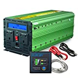 Generic Power Inverter 3000W DC 12V to 230V AC Converter with LCD Display