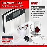 Tierliebhaber Set * PREMIUM SET * GSM Funk Alarmanlage mit LCD Display * Alarm/SMS/Anruf *