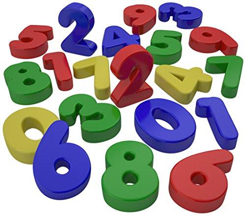 Numeri magnetici 0-9, confezione da 20