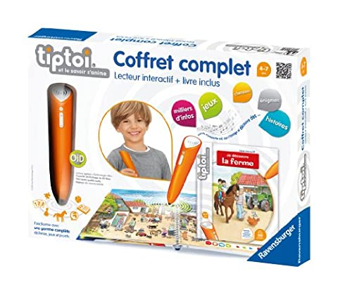 Ravensburger - Tiptoi - 00532 - Jeu Educatif Électronique - Tiptoi Coffret Complet Ferme