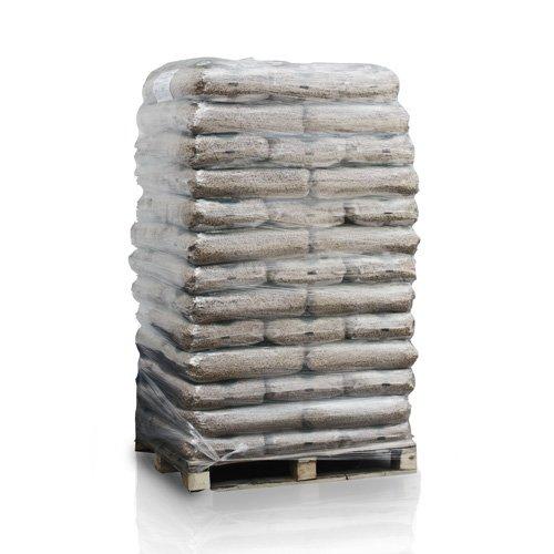 PALIGO Holzpellets ENplusA1 Wood HQ Pellet Öko Energie Heizung Kessel Sackware 6mm 15kg x 65 Sack 975kg / 1 Palette HEIZFUXX®