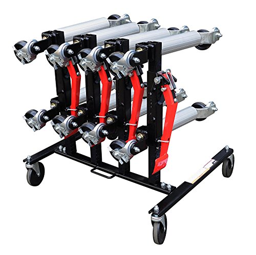 Sunex 7709 Car Dolly Rack (4-Dolly Capacity)