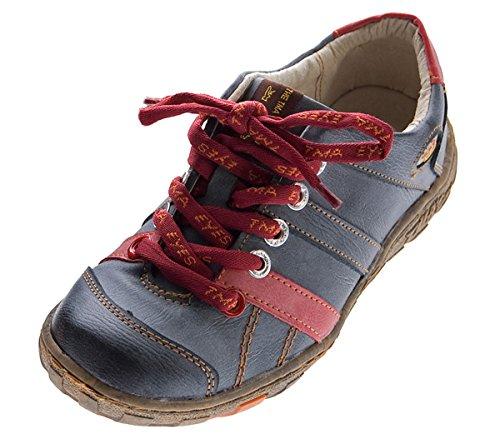 TMA , Chaussures de ville à lacets pour femme Noir - Schwarz Grau
