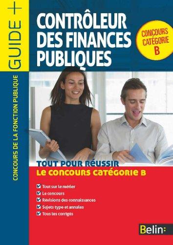 Contrôleur des finances publiques : Catégorie B