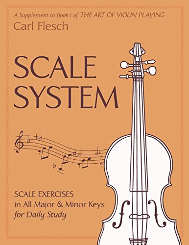 Scale System: Scale Exercises in All Major and Minor Keys for Daily Study by Carl Flesch (2015-04-08)