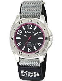 Ravel - R5-11.3G - Montre Homme - Quartz - Analogique - Bracelet Nylon multicolore