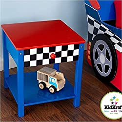 KidKraft Race Car Side Table - 76041