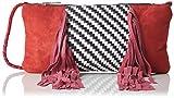 Antik Batik Damen Massaa Handtasche, Rot, 1x14x23 cm