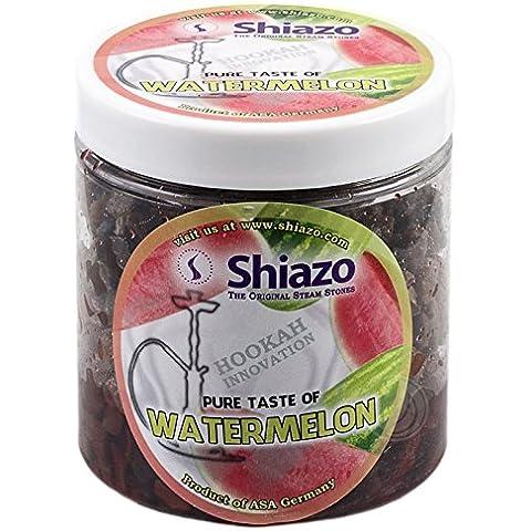 Shiazo Energy - Piedras granuladas para cachimba (sustituye a tabaco, sin nicotina, aroma a sandía)
