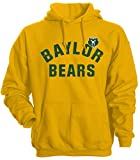 Camp David NCAA Herren Hose Varsity Hooded Fleece Pullover, herren, Varsity Hood, gold, Large