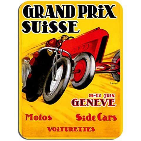 tappetino per mouse Swiss Grand Prix poster