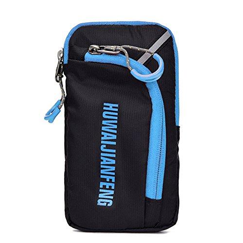 InGoo 18L Fahrrad Radfahren Rucksack Taschen, helles Reiten Wandern Im Freien wasserdichtes Packsack für laufende Sport Bergsteigen Klettern Spielraum mit Regen Abdeckung Blau