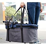 IbiyayaExpress Travel System Denim Pet Stroller 15