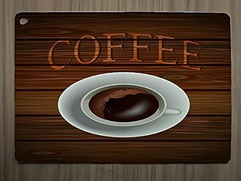 Etui Coque Housse adapté pour Ipad Air Publicité Cuisine Tasse à café
