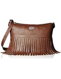 Fantosy Women's handbag (Brown, FNB-505)