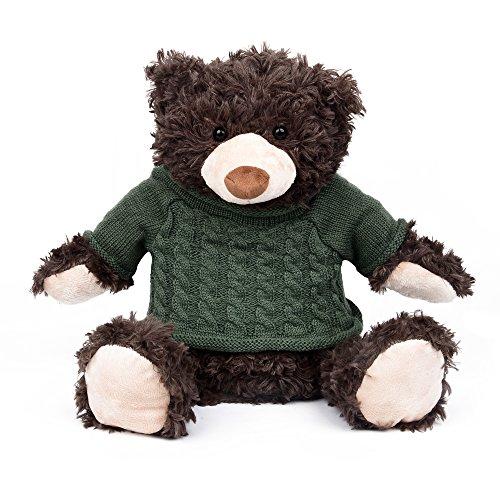 """Wärmflasche\""""Teddybär\"""" - Teddybar-Plüschbezug + Wärmflasche in einem Set"""