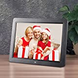 12 Inch HD Digital Picture Frame, 1280*800 TFT LED Wide Screen Multifunctional Photo