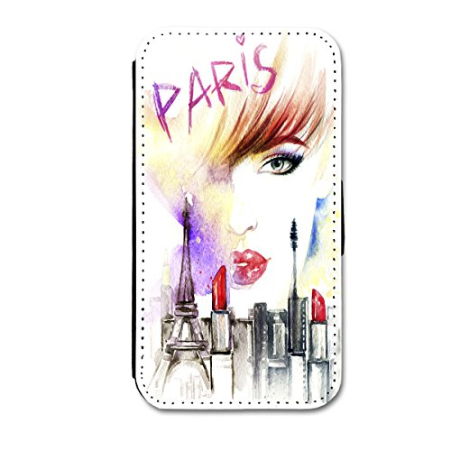 Book Style Flip Handy Tasche Case Schutz Hülle Schale Motiv Etui für Apple iPhone 5 / 5S - A52 Design5 Design 8