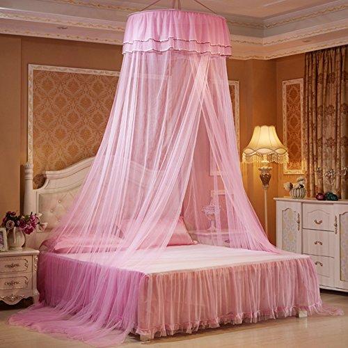 Betthimmel Dome Prinzessin Zelte Moskitonetz für Kinder (Rosa) ()