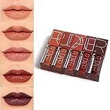 Petansy Matte Lipstick Kit Langlebige wasserdichte Matte Liquid Lip Glosses 5 Farben