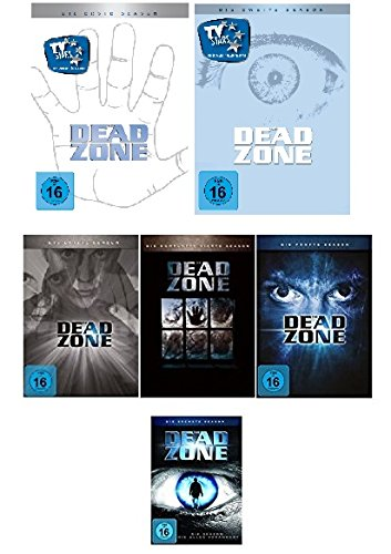 Dead Zone Season 1, 2, 3, 4, 5, 6 im Set - Deutsche Originalware [20DVDs] - Zone-serie