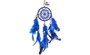Rooh Royal Blue Crochet Handmade Dream Catcher Hanging