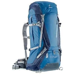 Deuter 34301 Sac à dos de trekking Futura Vario 50 + 10 76 x 36 x 28 cm (Acier/bleu marine)