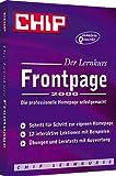 Produkt-Bild: Lernkurs Frontpage 2000 - CHIP-Serie