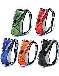 l'eau d'hydratation sac sac rouge pack vessie grimper valise diplomatique (randonnée vélo hydratation vessie non inclus)