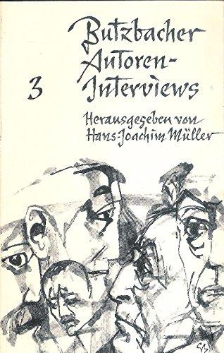 Butzbacher Autoren-Interviews 3