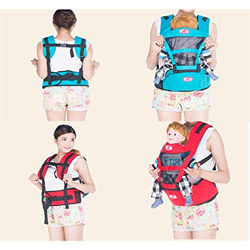 Udxvsdfhd Baby Carrier Baby Carrier And Baby Safety And Comfort Seat Multifunctional Summer Breathable Baby Seat Back Carrier  udxvsdfhd