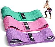 CFX Bandas Elasticas, Juego de 3 Bandas Elásticas Musculacion para Fitness con 3 Niveles, Resistencia Antidesl