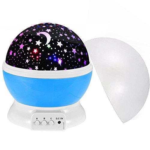 Sternenhimmel Projektor, Yanhuanchan Stimmungslichter Ozeanwelle Projektor Licht Schlaf Dekoration Nachtlicht Projektor für Kinder Schlafzimmer, Hochzeit, Geburtstag