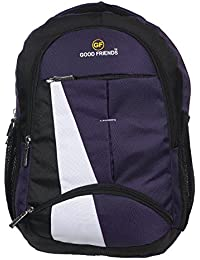 PETER INDIA Good Friends Polyester 36 L Waterproof Purple Casual Men s  Backpack 88ff5c8c8c880