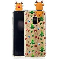 Everainy Samsung Galaxy S9 Silikon Hülle 3D Weihnachts dünn Durchsichtig Hüllen Handyhülle Gummi Samsung S9 Schutzhülle... preisvergleich bei billige-tabletten.eu