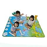 Vovotrade Alfombra de juego de picnic para bebés 200 * 180 * 0,5 cm (A)