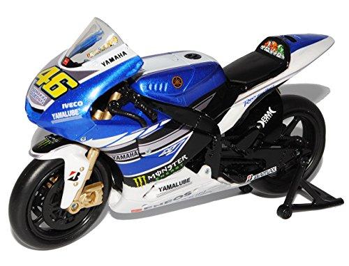 Yamaha-YZR-M1-Valentino-Rossi-2013-MotoGP-Blau-Nr-46-112-New-Ray-Modell-Motorrad-mit-oder-ohne-individiuellem-Wunschkennzeichen