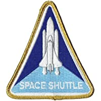PATCH,TOPPA RICAMATA TERMOADESIVA ,, SPACE SHUTTLE PROGRAM PATCH 7,5,, (Nasa Patch)