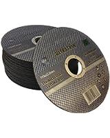 10 x Ultra thin 115 x 1mm stainless steel cuttings dics - metal cutting slitting discs