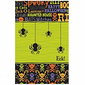 Amscan International - Mantel para fiesta Halloween (Globalgifts 573667)