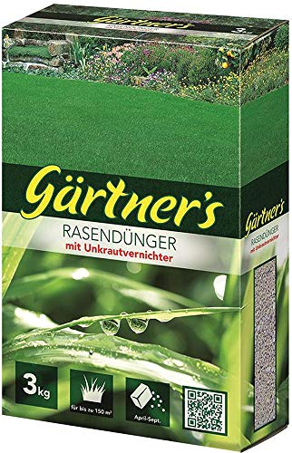 Gärtners Gärtner\'s Rasendünger +Unkrautvern.3 kg